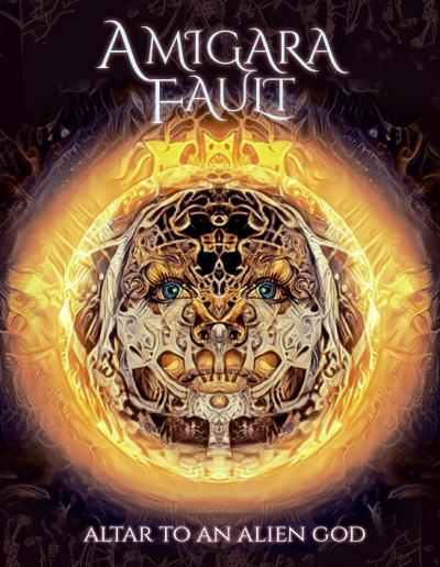 Amigara Fault: Altar to an Alien God (Album Cover)