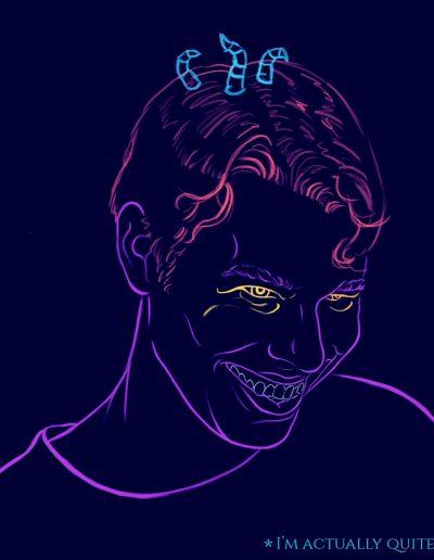 Neon Erotica (Interior Art)